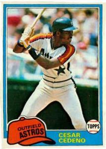 The Author's 1981 Topps Baseball Card