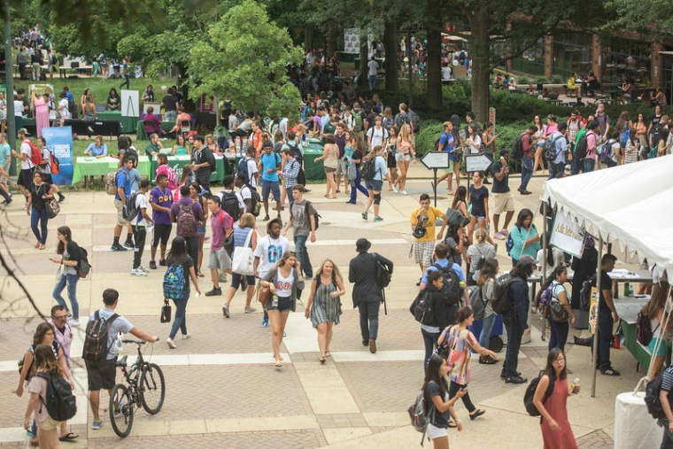 Image of Welcome Week Fair at GMU
