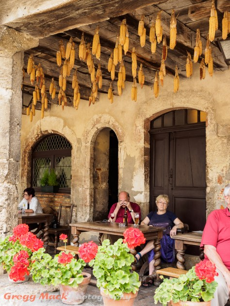 Tour of the Medieval town of Pérouges.