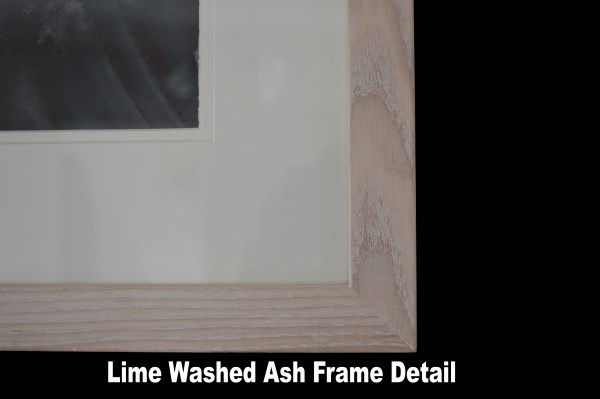 Lime Washed Ash Wood Frame