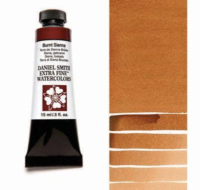 Daniel Smith Burnt Sienna