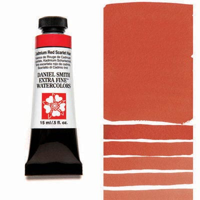Daniel Smith Cadmium Red Scarlet Hue
