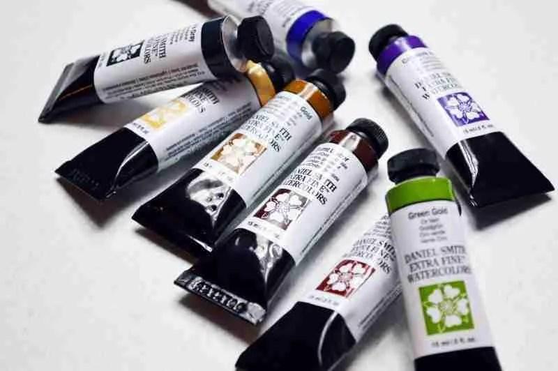 Daniel Smith Watercolour Tube Paints