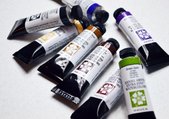 Daniel Smith Watercolour Tube Paints