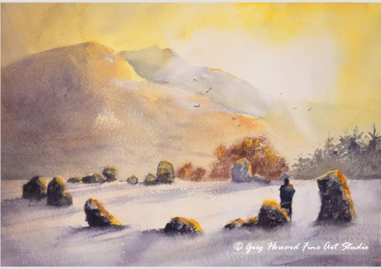 Dawn At Castlerigg