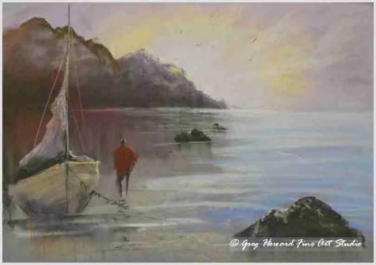 Evening Tide IV