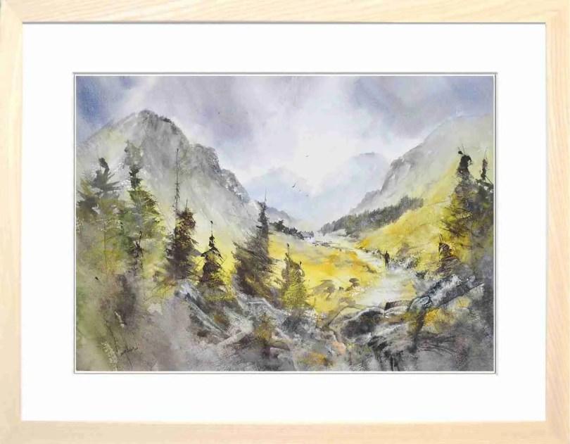 Framed Painting A Quiet Glen
