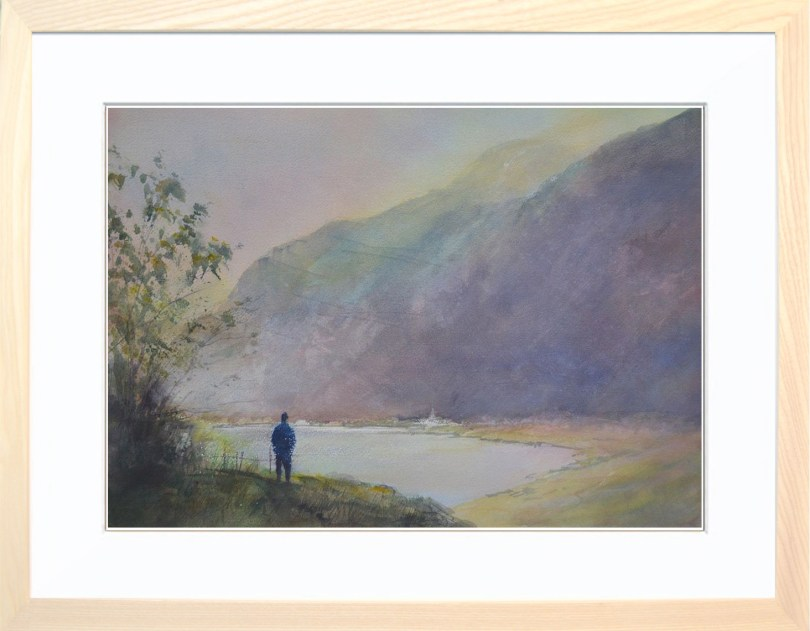 Framed Painting Across The Loch