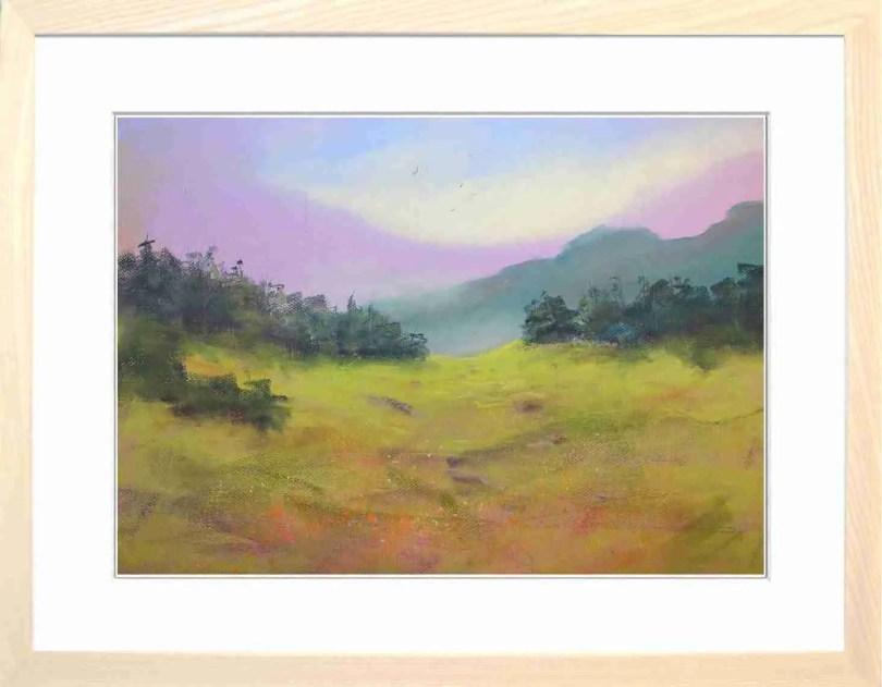 Framed Painting Alpine Meadow III