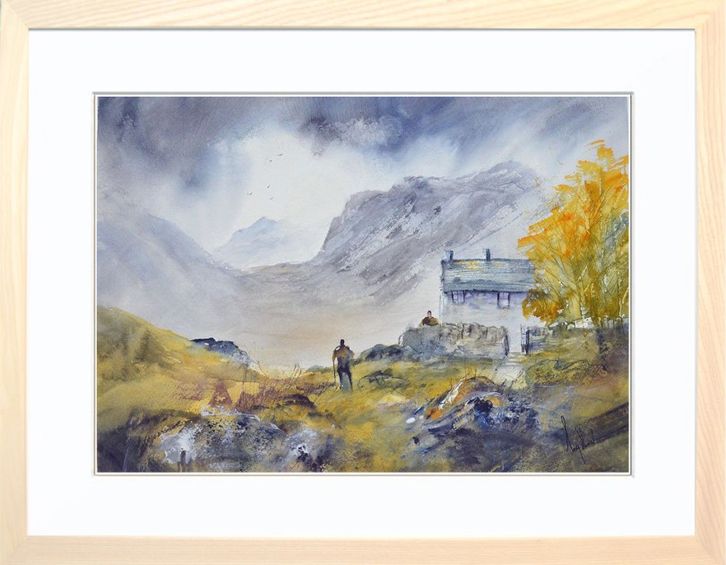 Framed Painting Annies Cottage II