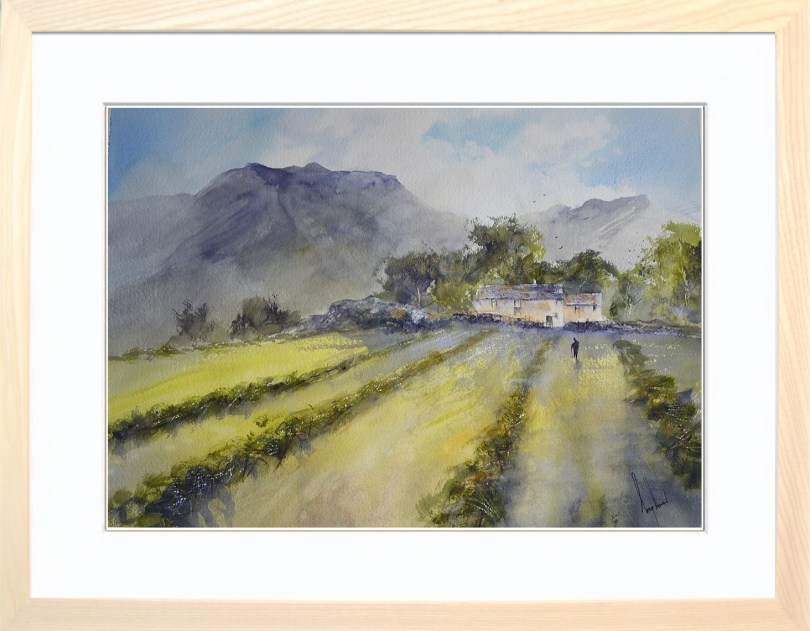 Framed Painting Baling Time