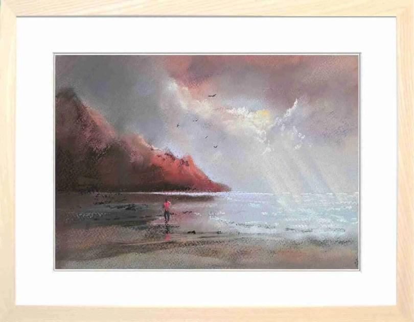 Framed Painting Beach II