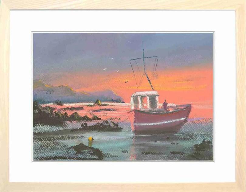 Framed Painting Beach III