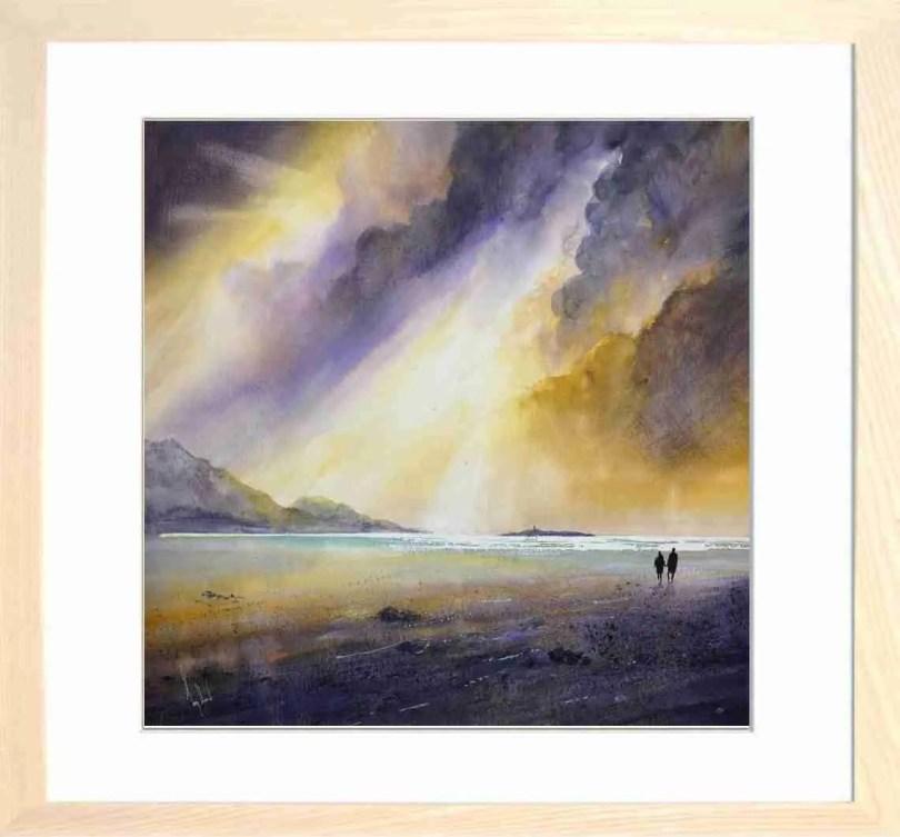 Framed Painting Beaches I