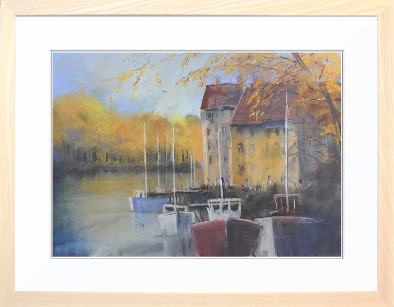 Framed Painting Down By The River