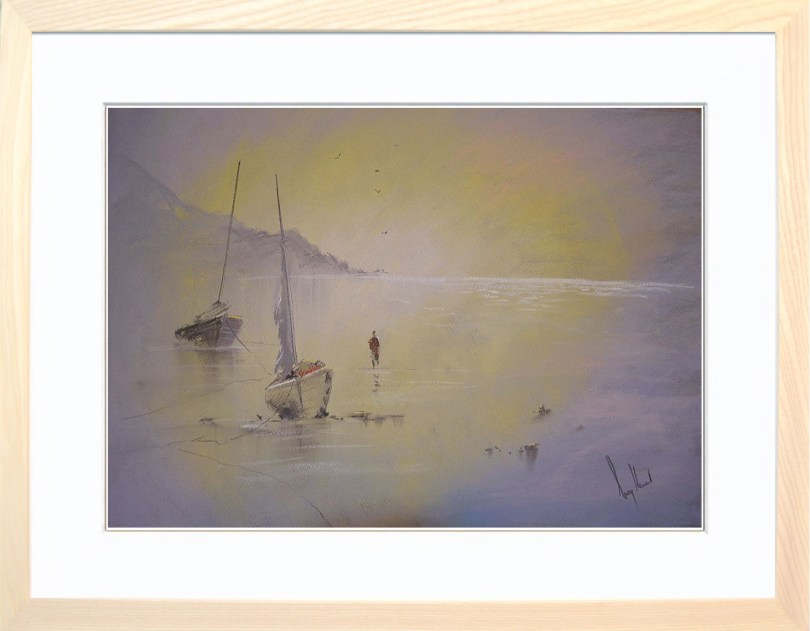 Framed Painting Evening Tide II
