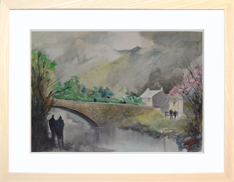 Framed Painting Grange In Borrowdale III