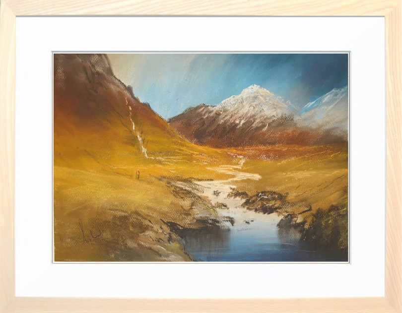 Framed Painting Highland Colours II