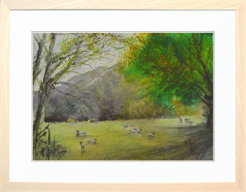 Framed Painting Meadow