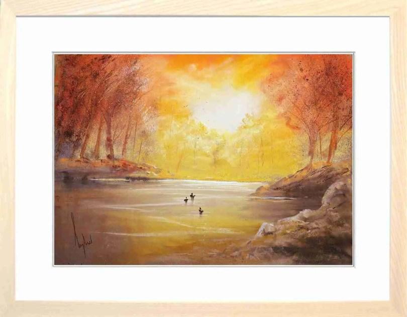 Framed Painting Morning I