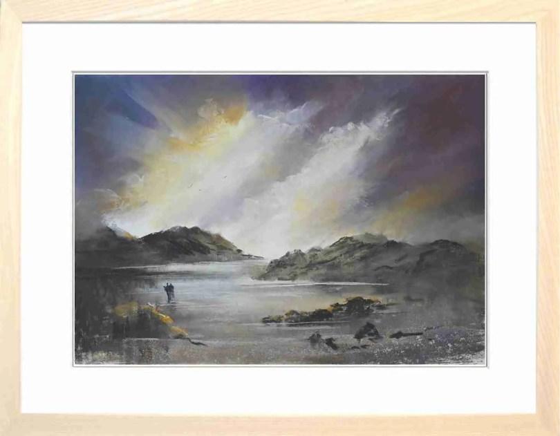 Framed Painting Radiant I