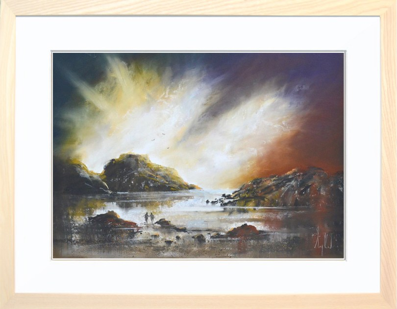 Framed Painting Radiant III