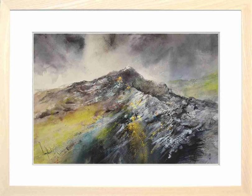 Framed Painting Ridge I