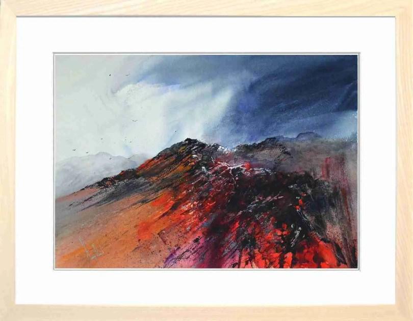 Framed Painting Ridge II