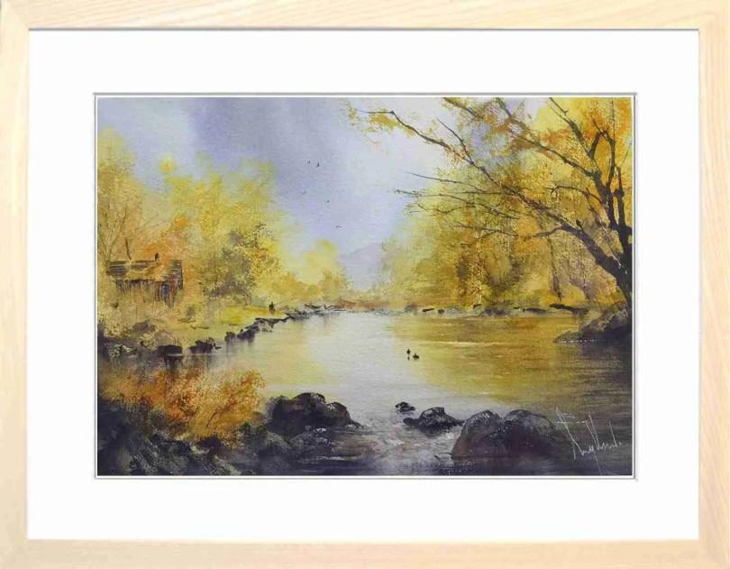 Framed Painting Silence Is Golden