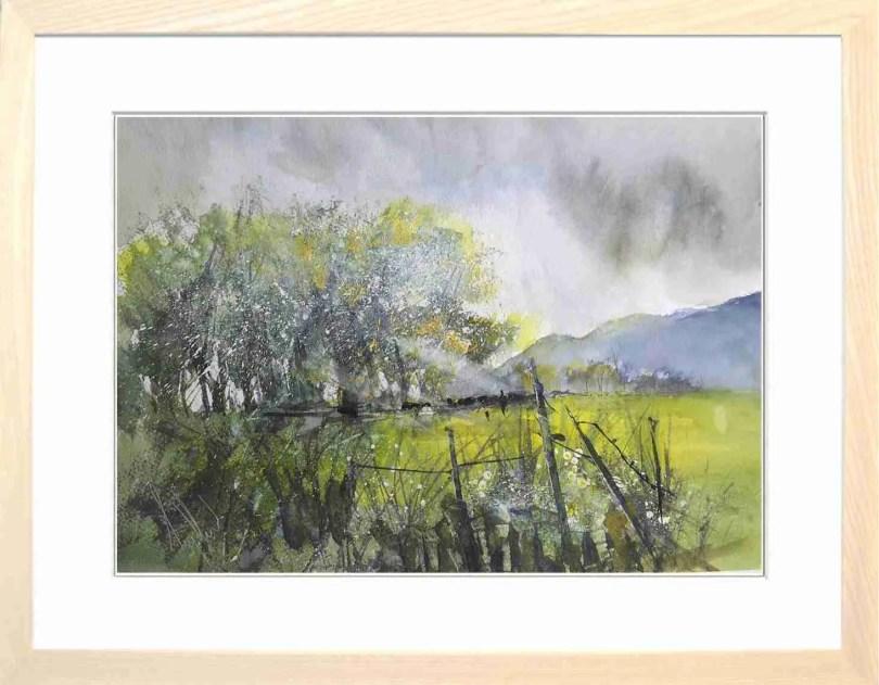 Framed Painting Spring Blossom
