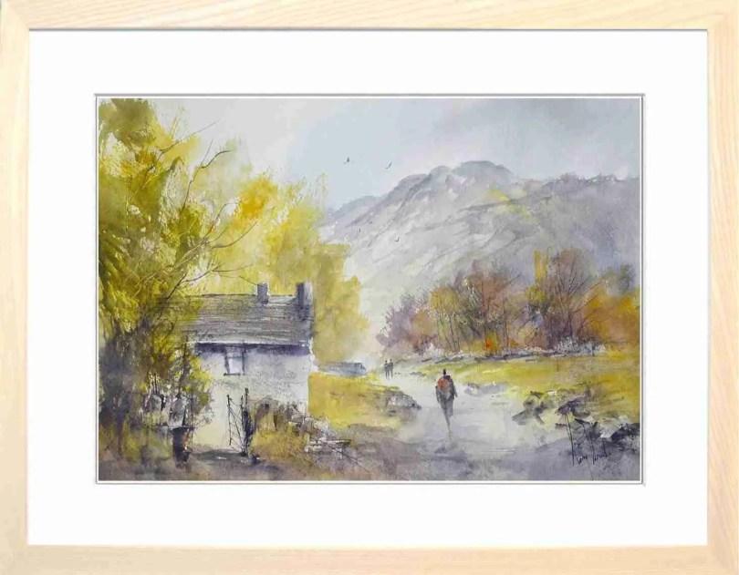 Framed Painting Summer Stroll VI