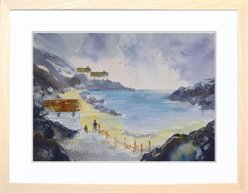 Framed Painting View To The Cove II