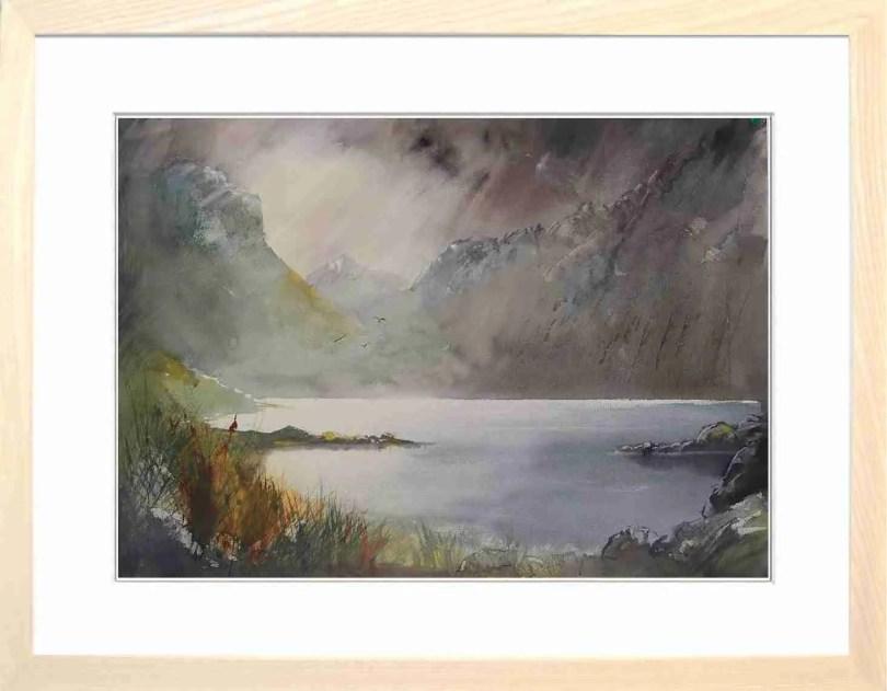 Framed Painting Wasdale Cumbria II