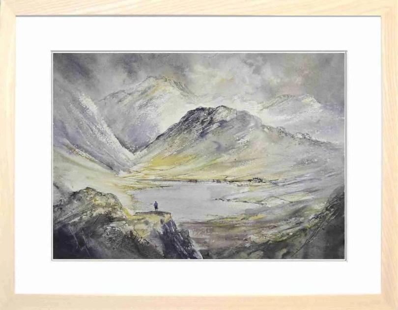 Framed Painting Winter Grandeur