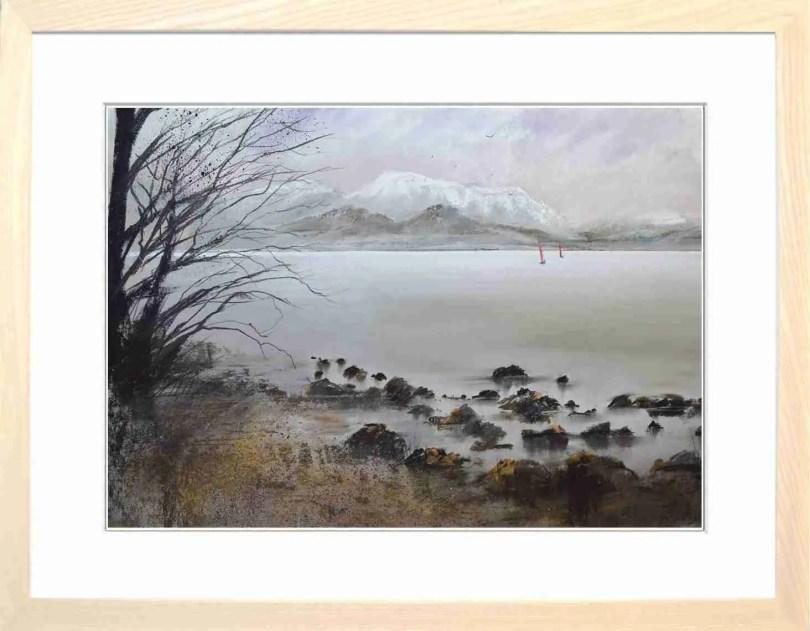 Framed Painting Winter N Ullswater III