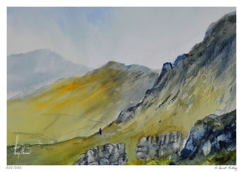 Limited Edition Print A Quiet Valley