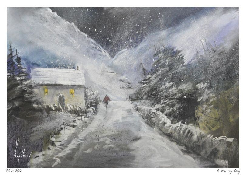 Limited Edition Print A Wintry Day