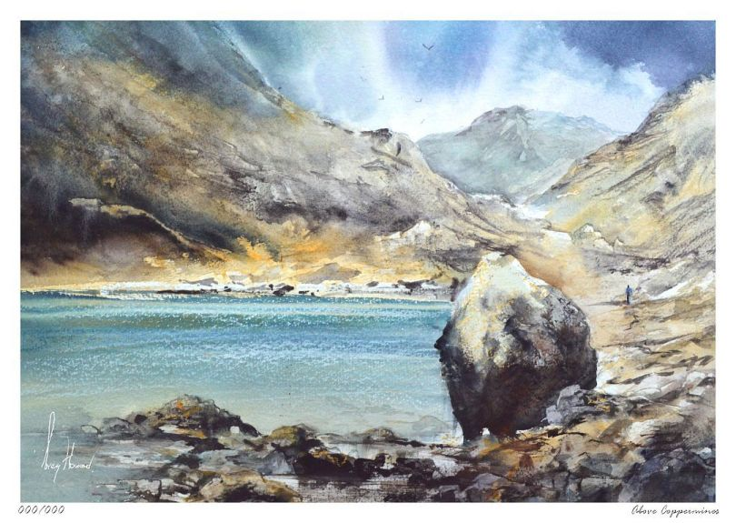 Limited Edition Print Above Coppermines