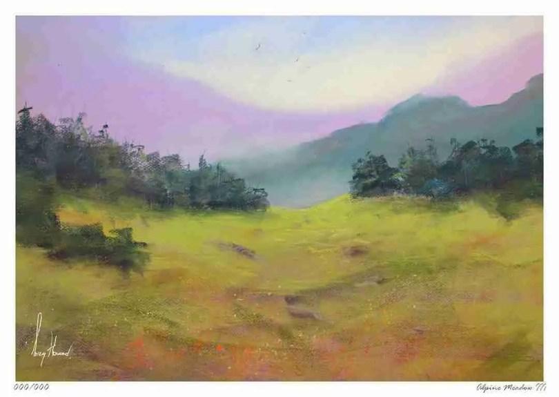 Limited Edition Print Alpine Meadow III