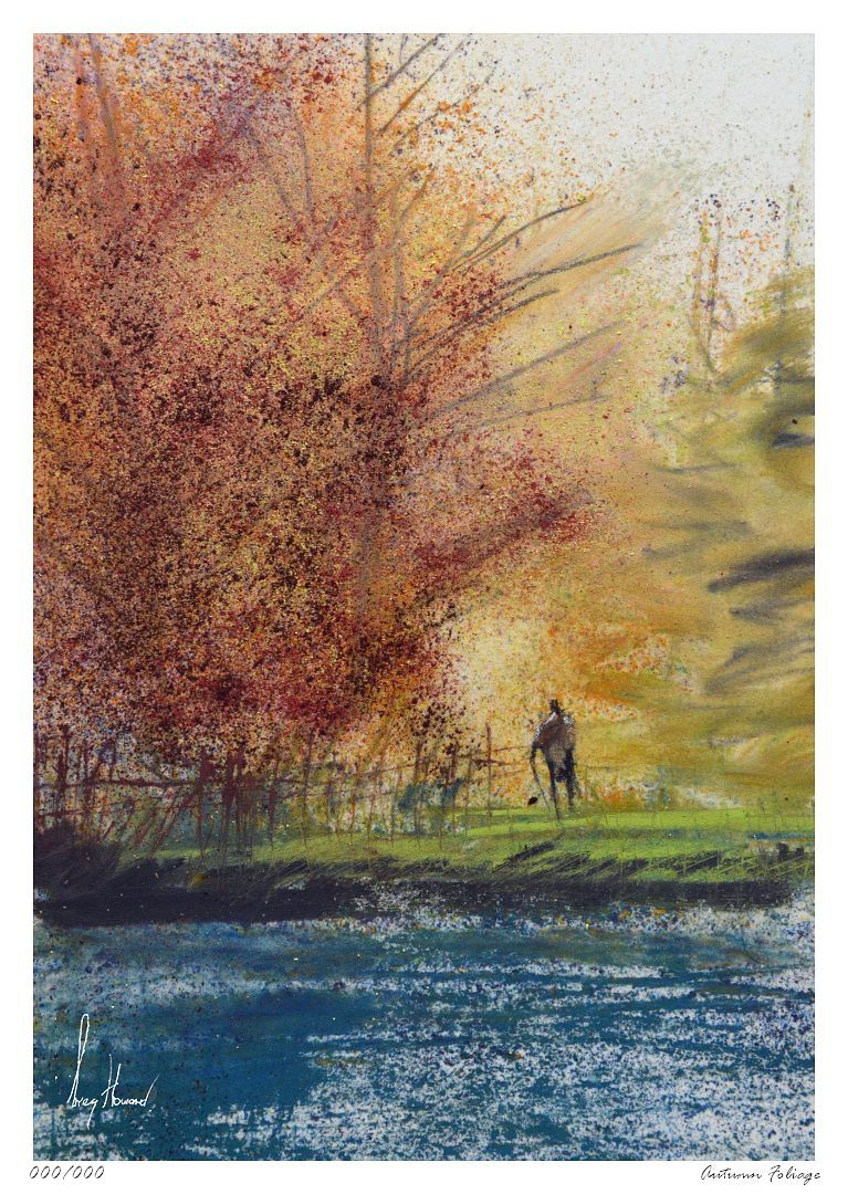 Limited Edition Print Autumn Foliage