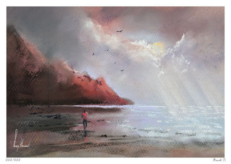 Limited Edition Print Beach II