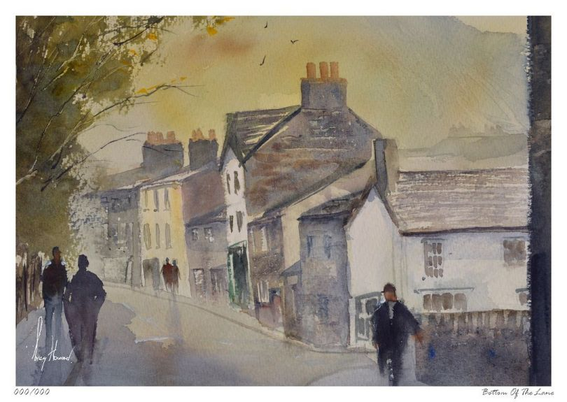 Limited Edition Print Bottom Of The Lane