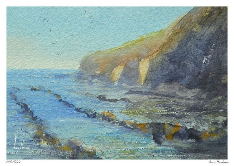 Limited Edition Print Cove Harbour