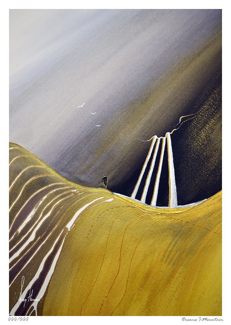 Limited Edition Print Dreams I Mountain