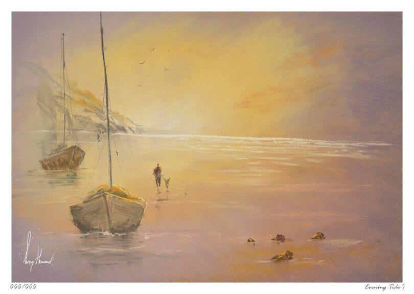 Limited Edition Print Evening Tide I