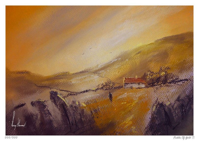 Limited Edition Print Fields Of Gold II