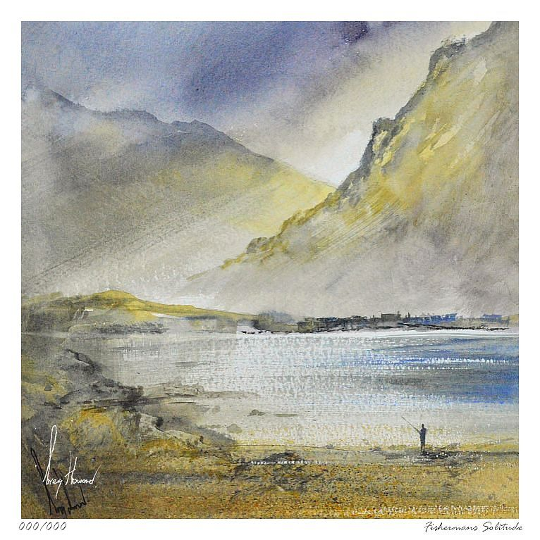 Limited Edition Print Fishermans Solitude