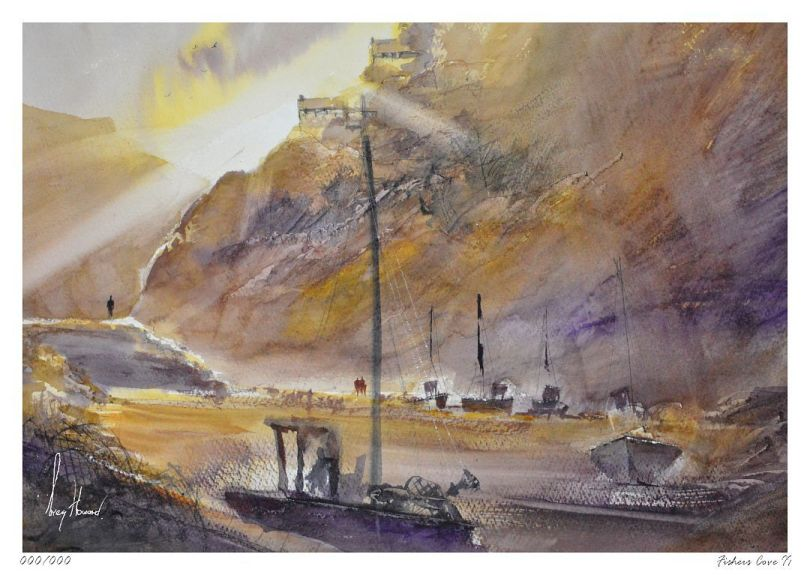Limited Edition Print Fishers Cove II