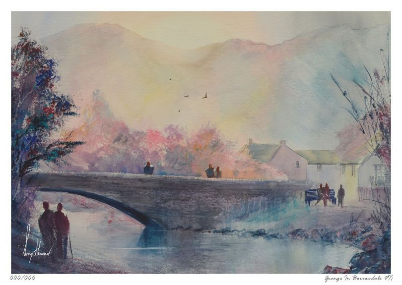Limited Edition Print Grange In Borrowdale VII