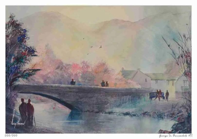 Limited Edition Print Grange In Borrowdale VII